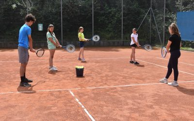 Kinderferientag der Gemeinde Brühl auf dem Tennisplatz