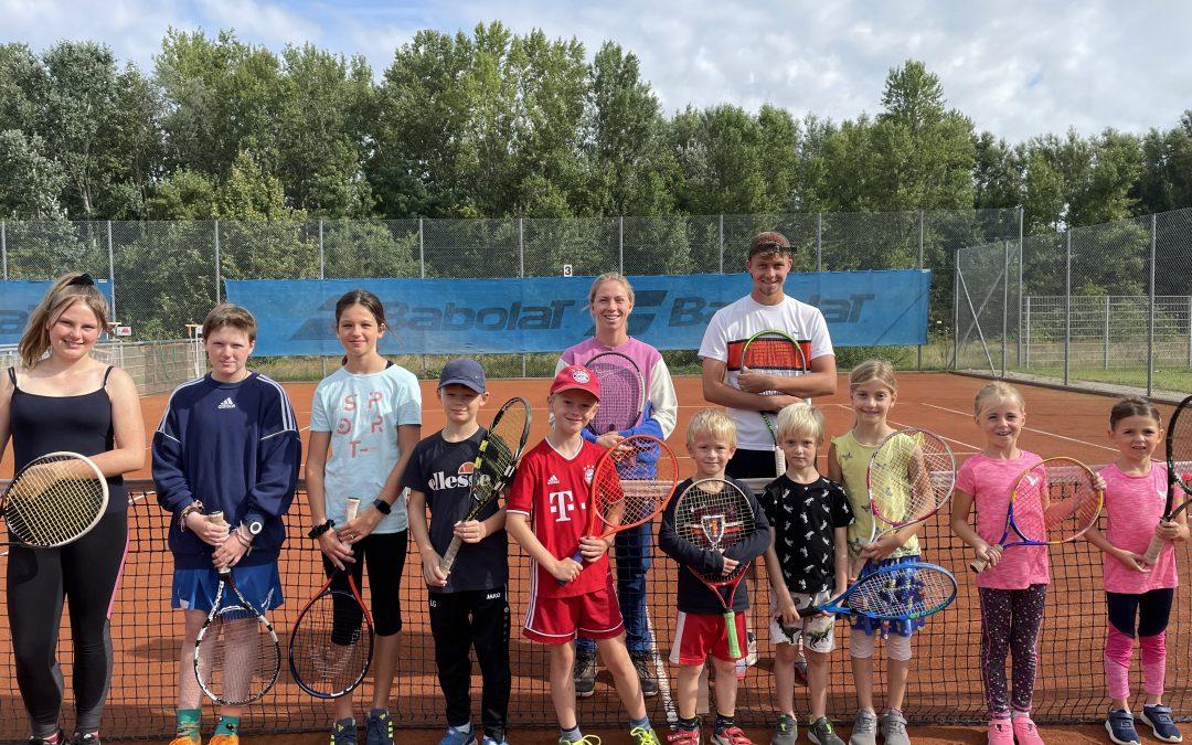 """Tenniscamp """"Next Generation Tennis Coaches"""" vom 16. -18. August 2021"""